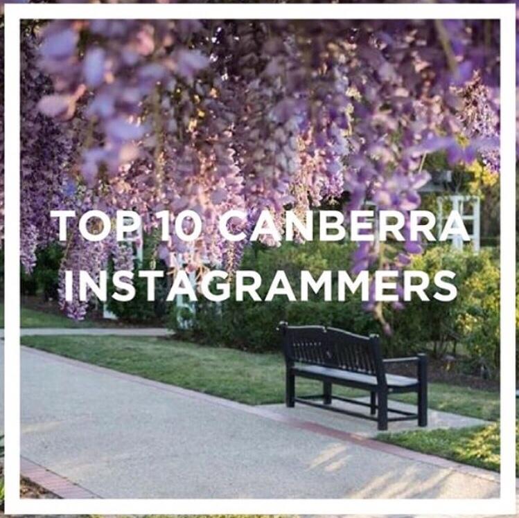 instagram photo showing label of top 10 Canberra instagrammers