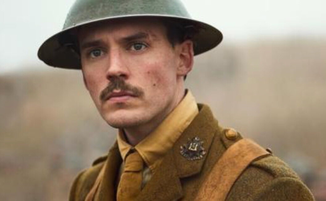 Image of main character from the film Journey's End