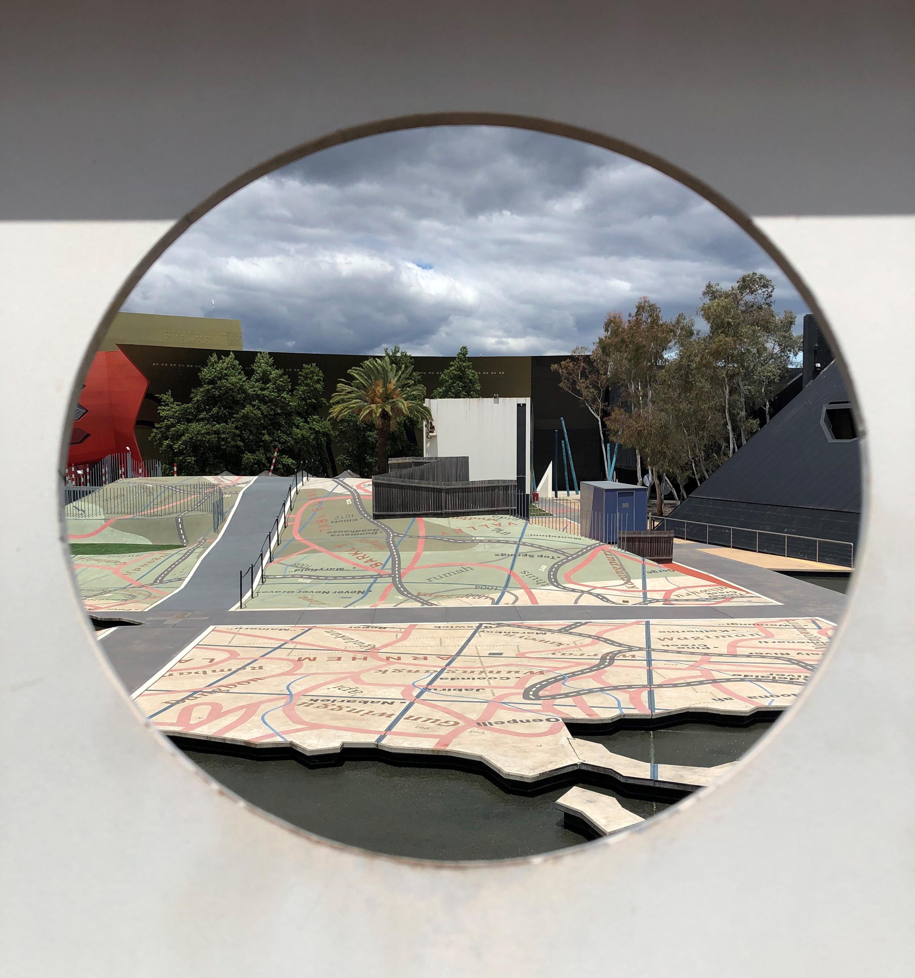 Window view of the Garden of Australian Dreams