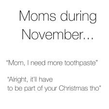 Moms in november