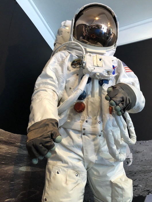 Space suit at Canberra Deep Space Station