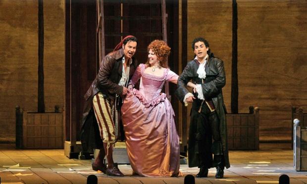 Opera scene from The Metropolitan Opera