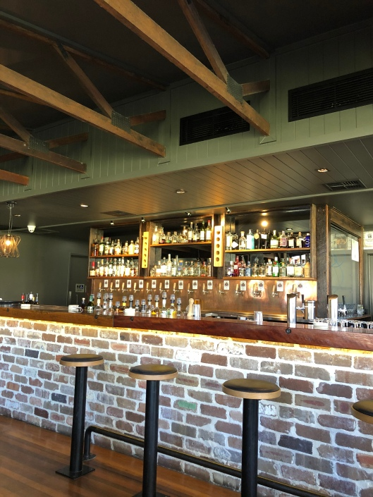 bar at Copperhead Brewery Cooroy